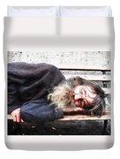 Sleeping Wizard Duvet Cover