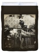 Sleeping Woman, C1900 Duvet Cover