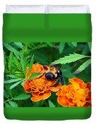Sleepy Bumblebee Duvet Cover