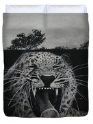 Sleepy Leopard Duvet Cover