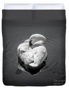 Sleepy Swan Duvet Cover