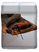 Sliding Beetle Duvet Cover