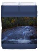Sliding Rock Falls Duvet Cover