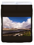 Slieve Mish Mountain In Snow Duvet Cover