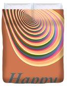 Slinky - Happy Birthday Card 2 Duvet Cover