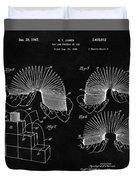 Slinky Patent Design  Duvet Cover