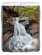 Slippery Rock Falls Fdr State Park Ga Duvet Cover