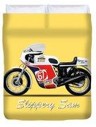 Slippery Sam Production Racer Duvet Cover