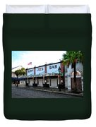 Sloppy Joe's Bar Key West Duvet Cover