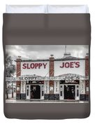 Sloppy Joe's Saloon- Key West Duvet Cover
