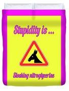 Sloshing Bigstock Donkey 171252860 Duvet Cover