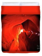 Slot Canyon 1 Duvet Cover