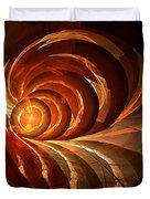 Slot Canyon Spiral Duvet Cover