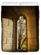 Slot Window Duvet Cover