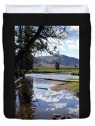Slough Creek 1 Duvet Cover