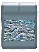 Slow Motion Rapids Duvet Cover