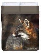 Sly As A Fox Duvet Cover