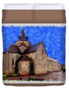 Small Church 2 Duvet Cover