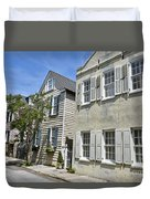 Small Colonial Style Homes Duvet Cover