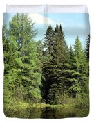 Small Country Pond Duvet Cover