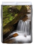 Small Falls At Governor Dodge State Park Duvet Cover