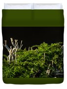 Small Forest Duvet Cover