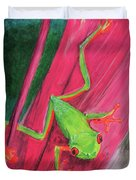 Small Frog Duvet Cover