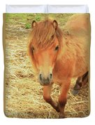 Small Horse Large Beauty Duvet Cover