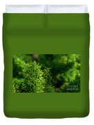 Small Plants Duvet Cover