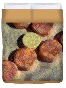 Small Round Stones Duvet Cover