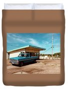 Small Town Blues Duvet Cover