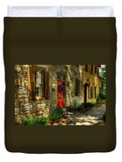 Small Town Usa Duvet Cover