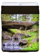 Small Waterfall 1 Duvet Cover