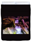 Small Waterfalls  Duvet Cover
