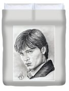 Smallville  Tom Welling Duvet Cover