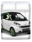 Smart Fortwo Electric Drive Duvet Cover