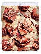 Smashing Chocolate Fondue Party Duvet Cover