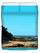 Smell The Sea And Feel The Sky  Duvet Cover