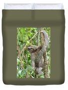 Smiling Sloth Duvet Cover
