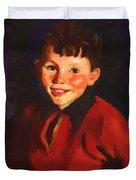 Smiling Tom Thomas Cafferty 1924 Duvet Cover