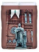 Smithsonian Castle  Duvet Cover