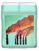 Smog Industrial II Duvet Cover