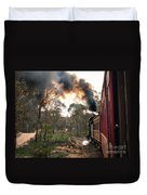 Smoke And Fire Duvet Cover
