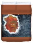 Smoke And Mirros Duvet Cover