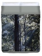 Smoke In The Air Duvet Cover