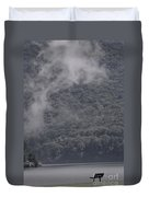 Smoke Off The Water Duvet Cover