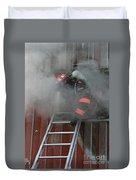 Smoke Duvet Cover