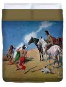 Smoke Signals Duvet Cover