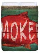 Smoked Fish Duvet Cover