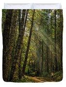 Smokey Forest Duvet Cover
